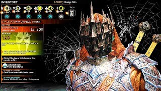 SHADOW OF WAR - UNIQUE BLACK-HEART BETRAY OVERLORD DIFFICULTY NEMESIS IN DESERT