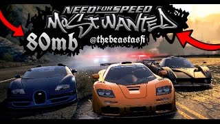 💀(80mb)😲NEED FOR SPEED MOST WANTED💛WITH HIGH SPEED PPSSPP SETTINGS💀