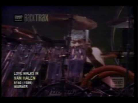 Van Halen-Love walks in