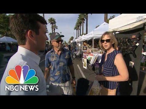 Arizona Independents, Republicans Mull Electing Democrat Sinema To Senate   NBC News