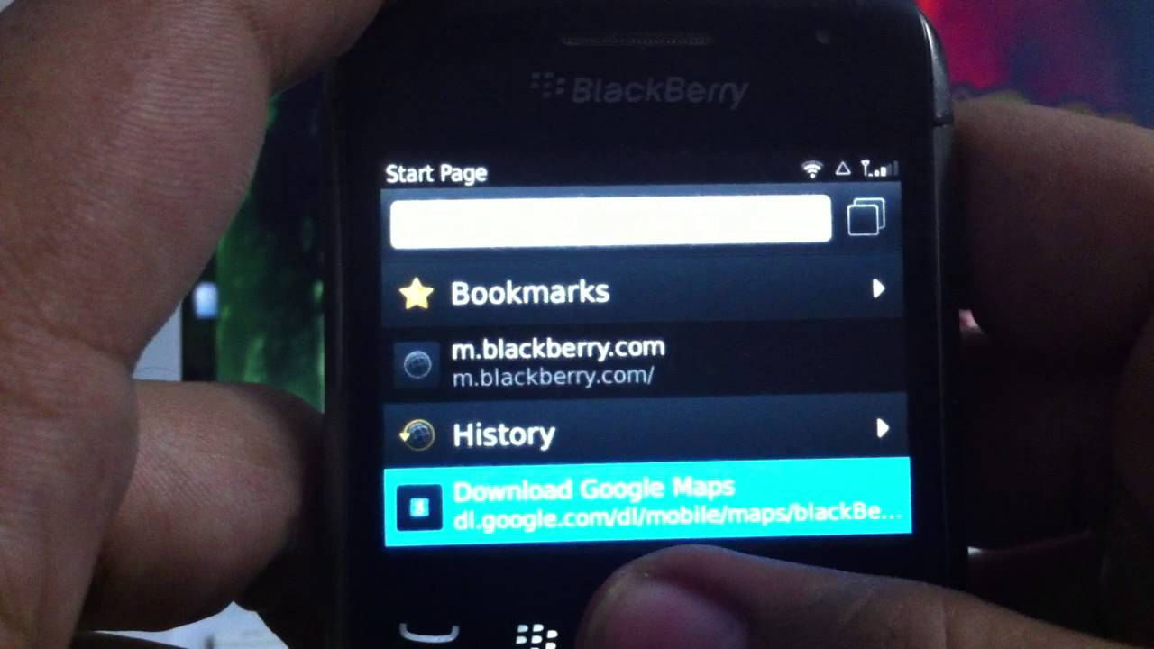 How To INSTALL DOWNLOAD Google Maps on any Blackberry for
