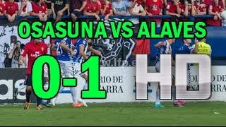 Video Gol Pertandingan Osasuna vs Deportivo Alaves