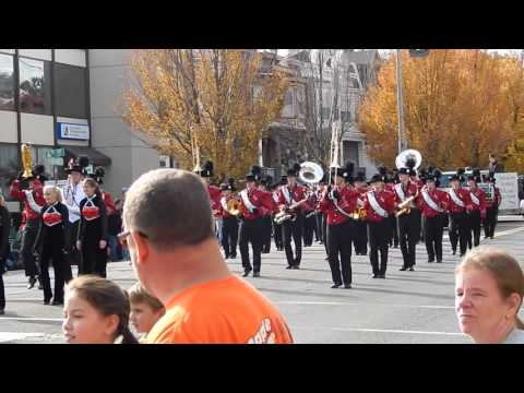 Saucon Valley High School Band - Bethlehem Halloween Parade - October 25, 2015
