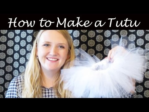 How To Easily Make Baby Tutu