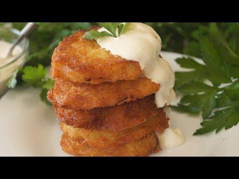 Лучший рецепт Картофельных Драников.  Невероятно вкусные и ароматные!