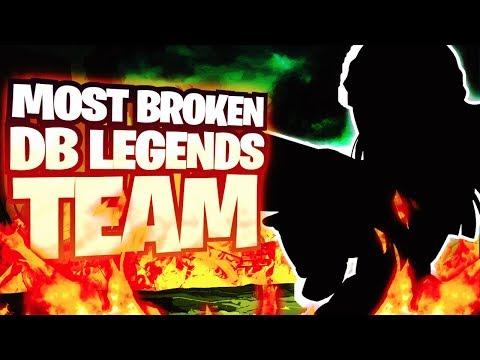 The Most BROKEN & BEST Dragon Ball Legends Team BY FAR! DB Legends
