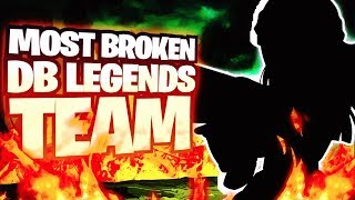 The Most BROKEN & BEST Dragon Ball Legends Team BY FAR! DB Legends