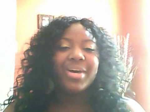 Quick Weave W Invisible Part Beach Curl Hair Youtube