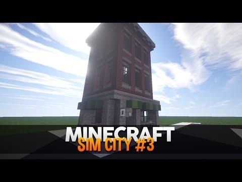 Minecraft SimCity #3: O primeiro Prédio!