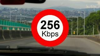【實測】低速4G吃到飽(128k/256k/1M/3M/10M)到底能夠看影片嗎?