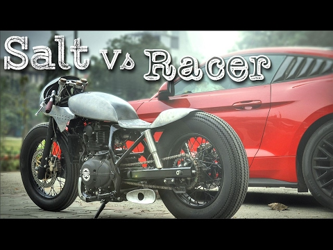 Cafe Racer (Royal enfield Himalayan by Inline3 Custom Motorcycles)