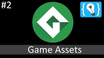 Game Maker Studio 2 Tutorial German (Deutsch) [02/21] - Game Assets