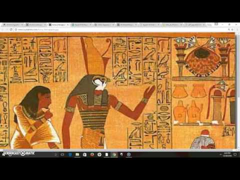 The Anthropomorphic Gods & The Sphinx As Anubis