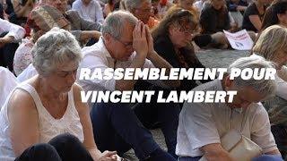 """Rassemblement pour Vincent Lambert: """"C'est comme rétablir la peine de mort"""""""