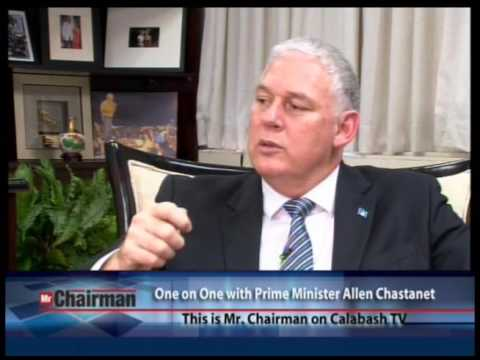 "PM Allen Chastanet on ""Mr. Chairman"" with David Samuels"