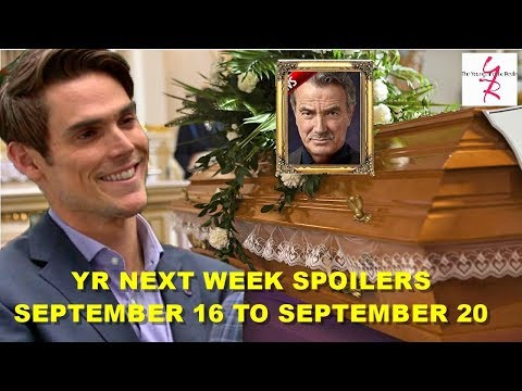 The Young And The Restless Spoilers Next Week September 16 - September 20 - Y&R Hot News