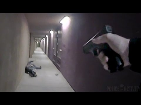 Bodycam Footage Of Cop Shooting Armed Student On Campus