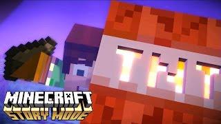 Minecraft Story Mode - A TNT MAIS FORTE DO MINECRAFT #12 (Episódio 3)