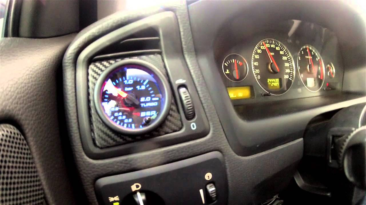 BSR Project car Volvo V70 2.5T - YouTube