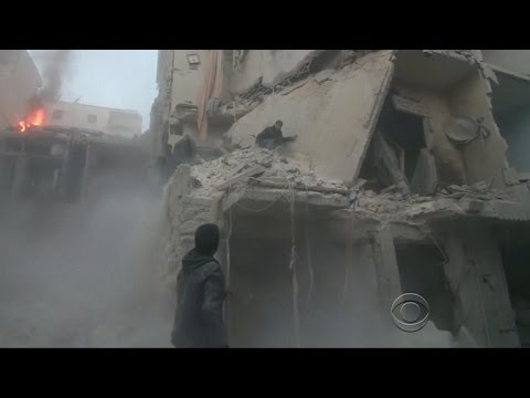 Civilian casualties growing in Syria