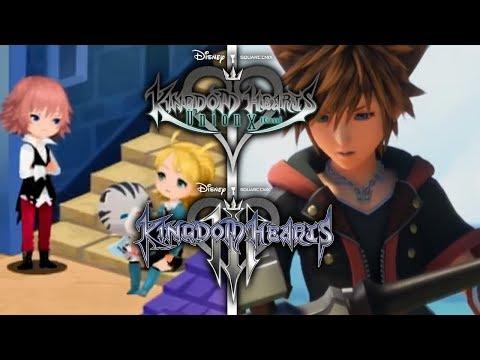 Kingdom Hearts Union X - Strelitzia Is Lauriam's Sister - Gula A Suspect? - KH3 New Scenes & More!
