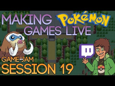 Making Pokemon Games Live (Game Jam Session 19)
