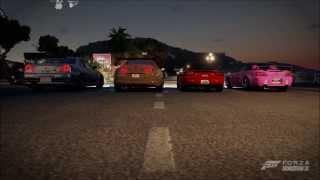 Forza Horizon 2 ,2 Fast 2 Furious Intro Remake