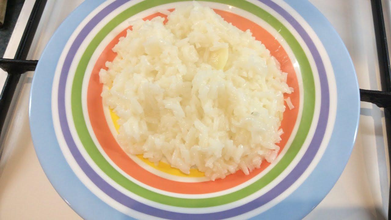 Como hacer arroz en blanco para dieta blanda