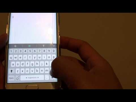 Samsung Galaxy S6 Edge: How to Auto Enter Full Stop with Spacebar on Keyboard Shortcut