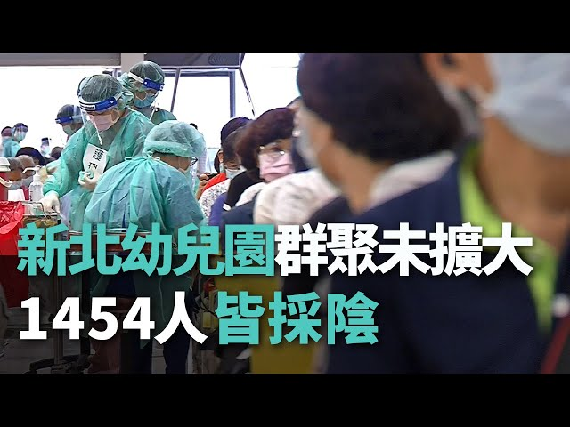 新北幼兒園群聚未擴大 1454人皆採陰【央廣新聞】