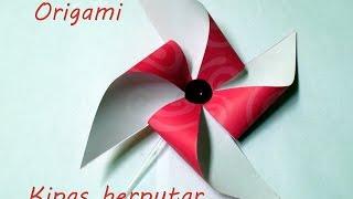 Cara melipat origami kincir angin sederhana Mp3