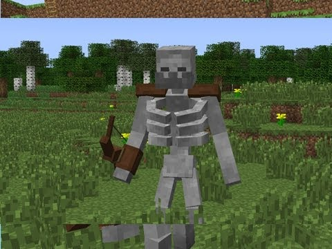 Minecraft MUTANT SKELETON Mod