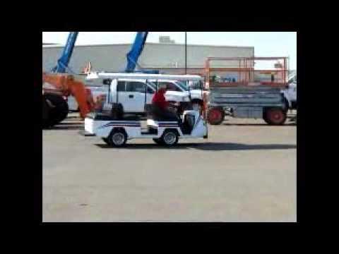 Pargo 36 Volt Electric 6 Seater Utility Golf Cart W Bidadoo