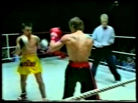 """Thaiboxing and Kickboxing at Solnahallen 1993-02-06 Part 2 """"The Dream Team Gala"""""""