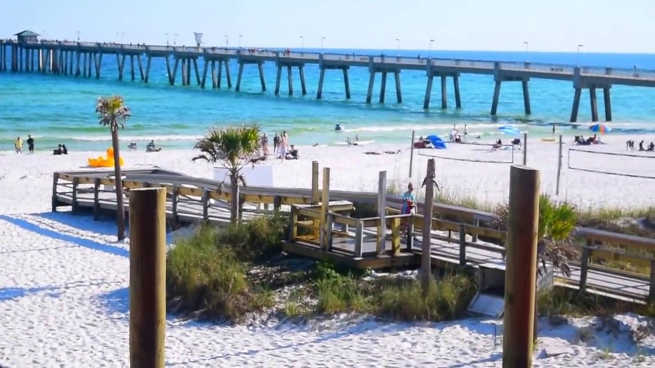 View Of Beautiful Fort Walton Beach Okaloosa Island Fl New Ipad Pro 10 5 1080p