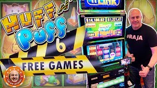 🌬️LET'S BLOW THE HOUSE DOWN! 🌬️Big Bets! Lock It Link Huff N' Puff BONUS WINS! 🎰