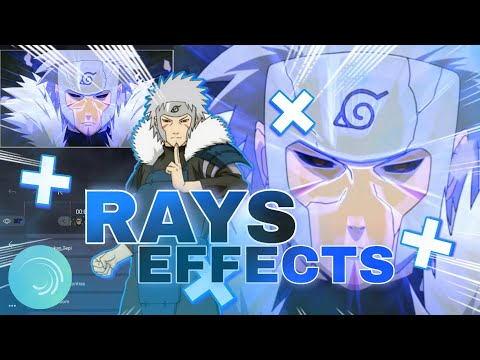 RAYS EFFECTS || AMV TUTORIAL • ALIGHT MOTION