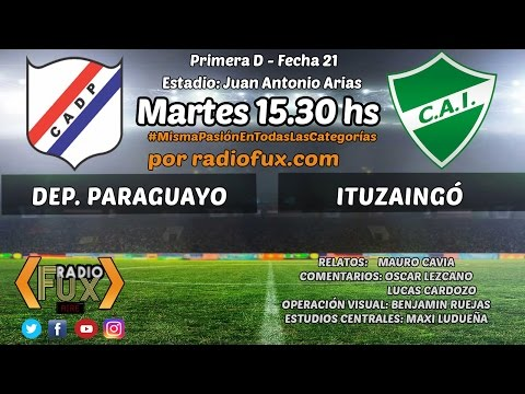 Dep. Paraguayo 0 - Ituzaingo 1 - Primera D