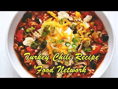 Turkey Chili Recipe Food Network