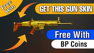 PUBG MOBILE: How to get FREE GUN SKIN in PUBG with BP coins | Pubg mobile new tricks