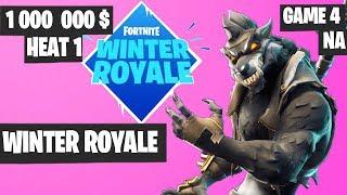Fortnite Winter Royale Semifinal Heat 1 Game 4 NA Highlights [Fortnite Tournament 2018]