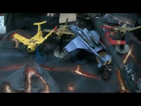 Lava World Mining Outpost- part 03 40K Scenario Batrep