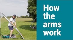 How the arms and hands work in the downswing