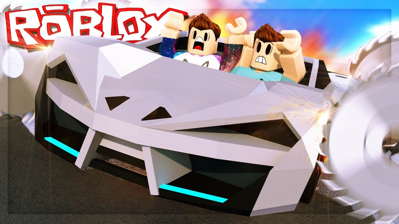 Roblox Adventures CAN YOU SHRED A ROBLOX SPORTS CAR