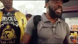 Tommy Sotomayor Gets Punched In The Face In Harlem NY.