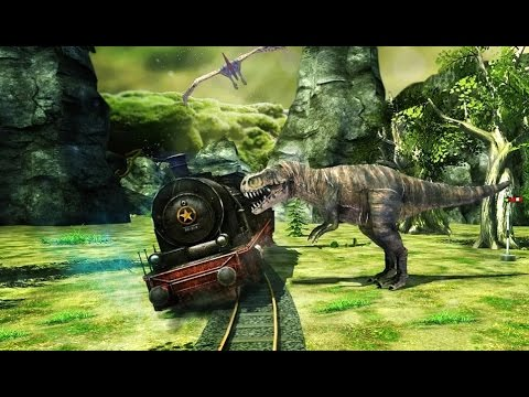 Train Simulator Dino Park - Android Gameplay HD