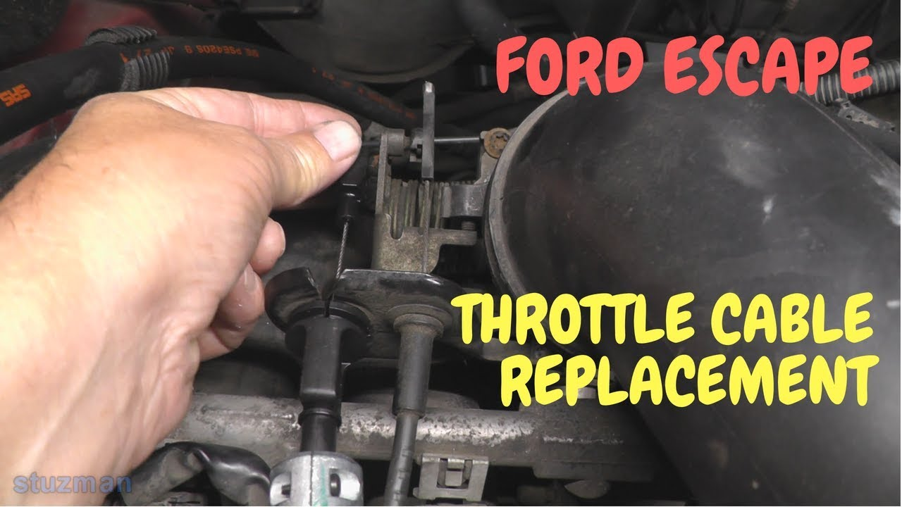2008 ford escape throttle control warning light