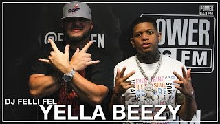Yella Beezy Talks Working w/ Chris Brown & Creates A Hook On The Spot