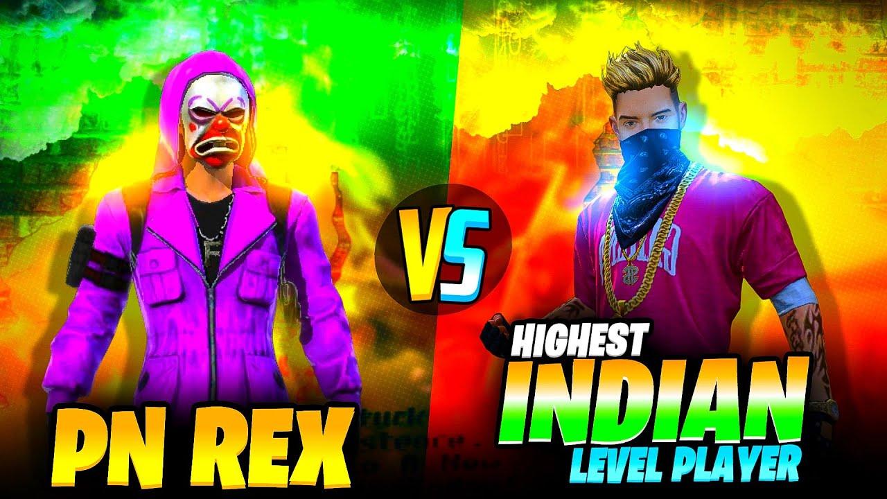 PN REX VS INDIAN HIGHEST LEVEL PLAYER  😱🔥- SAMSUNG A3,A5,A6,A7,J2,J5,J7,S5,S6,S7,S9,A10,A20,A30,A50,