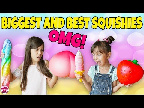 BIGGEST and BEST SQUISHIES EVER! Giant Squishy Toys Haul
